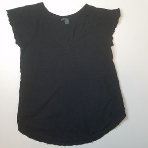 Anthropologie Left of Center tee size small